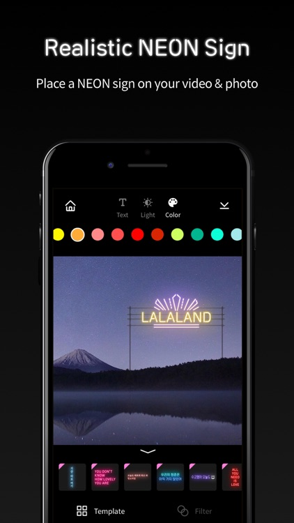 challa NEON: Video Story Maker screenshot-4