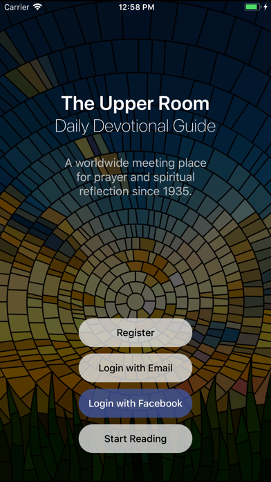 Upper Room Daily Devotional Screenshot