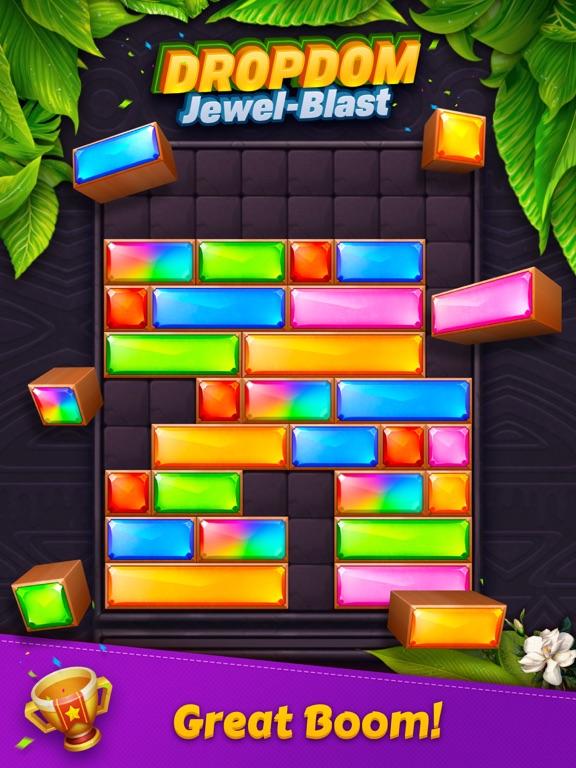 Скачать игру Dropdom™ Puzzle Block Jewel