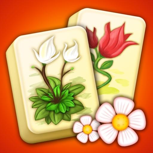 Mahjong Flower Garden Puzzle