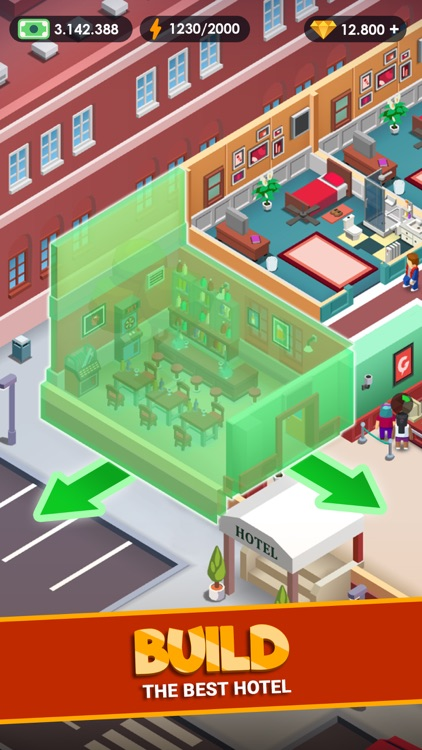 Hotel Empire Tycoon-Idle Game screenshot-4