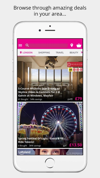 Wowcher - Deals & Vouchers screenshot one