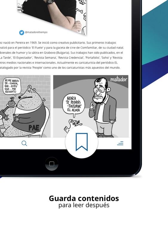 EL TIEMPO iPad screenshot-5