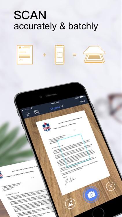 PDF Scanner-Document scanner screenshot-0