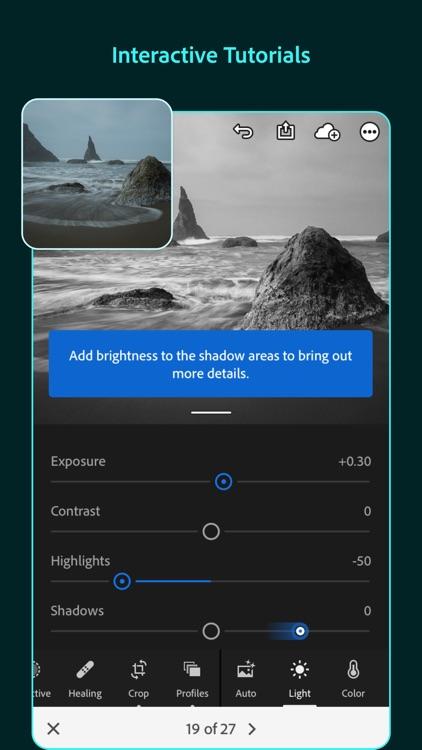 Adobe Lightroom Photo Editor screenshot-5