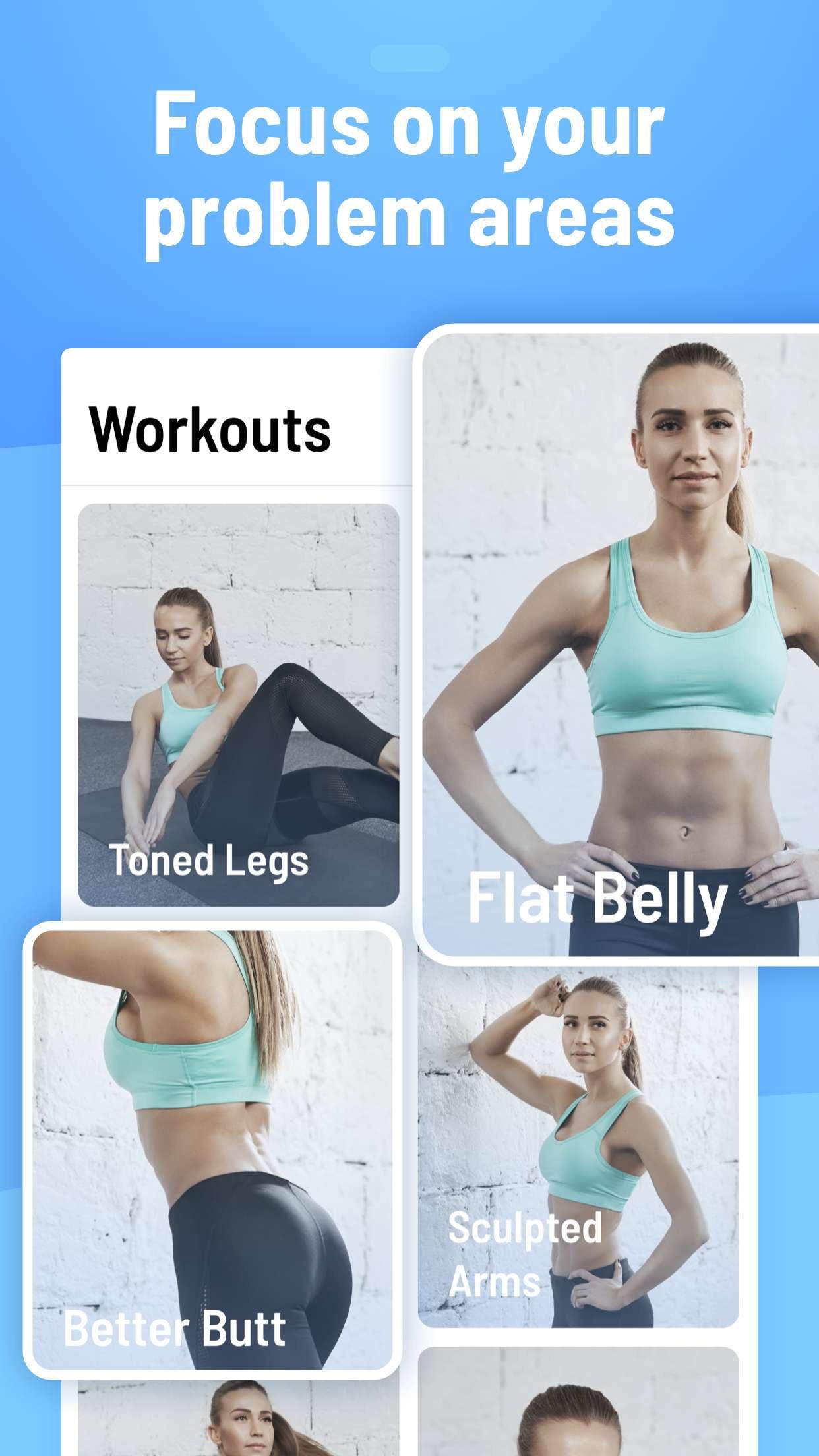 Female Fitness Women Workout Screenshot