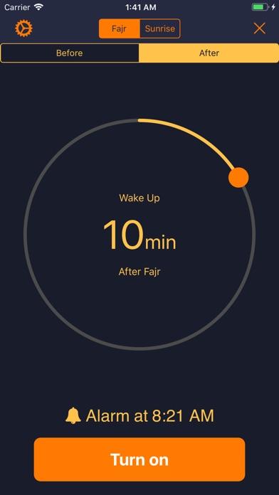 Dawn Clock-Islamic Prayer Tool screenshot #2