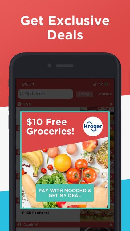 Moocho: Rewards & Discounts screenshot-3