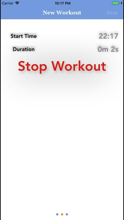 Exercise Log! screenshot-9