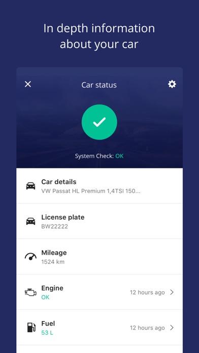 MinVolkswagen Screenshot on iOS