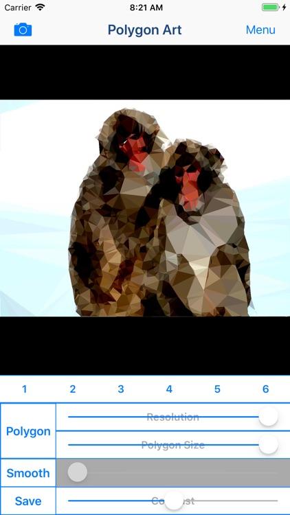 Polygon Art - 3D Image Editor screenshot-5