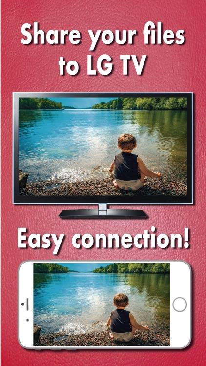 Air Mirror for LG TV Screen