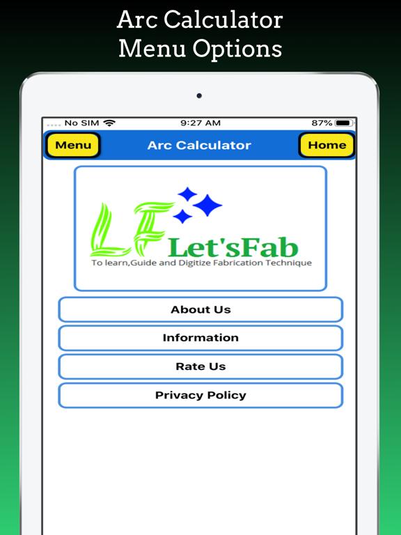 Arc Calculations screenshot 16
