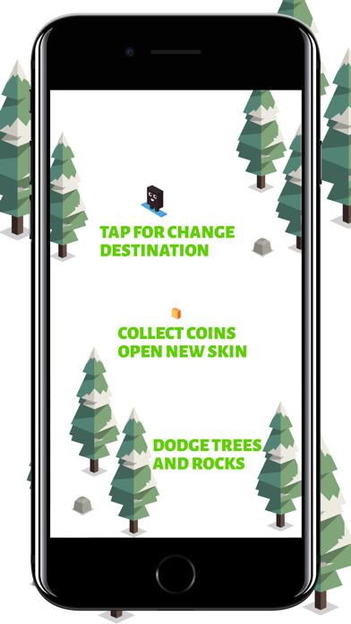 Forest Skiing screenshot #3