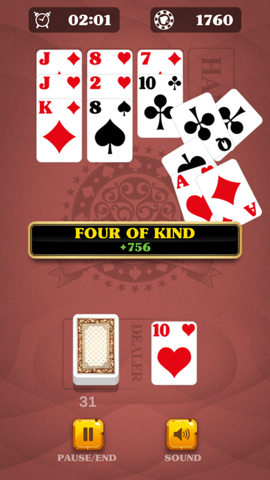 5-Card Solitaire: Match Cards screenshot 2