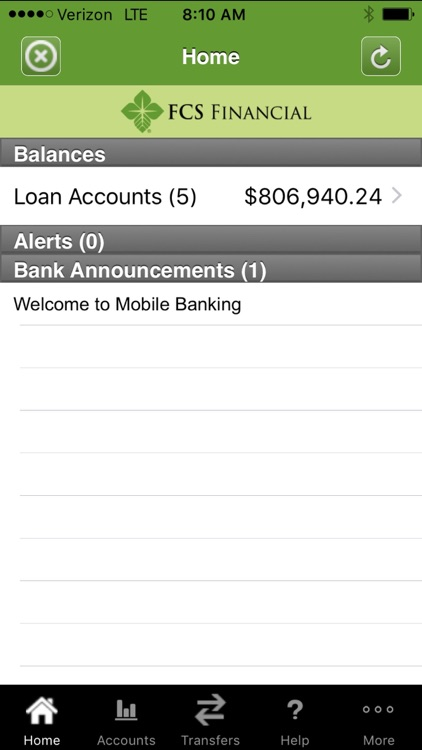 FCS Financial Mobile Banking