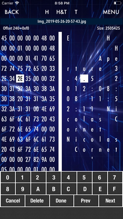 HEX Editor screenshot-2