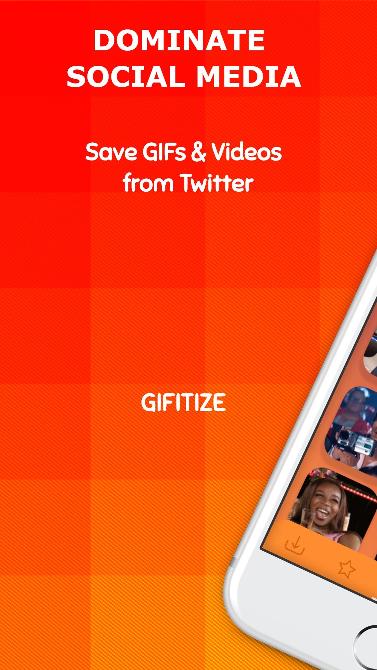 Gifitize ― Save Twitter Gifs Screenshot