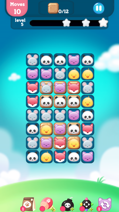 Screenshot for Pets Park (动物消消乐园) in United States App Store