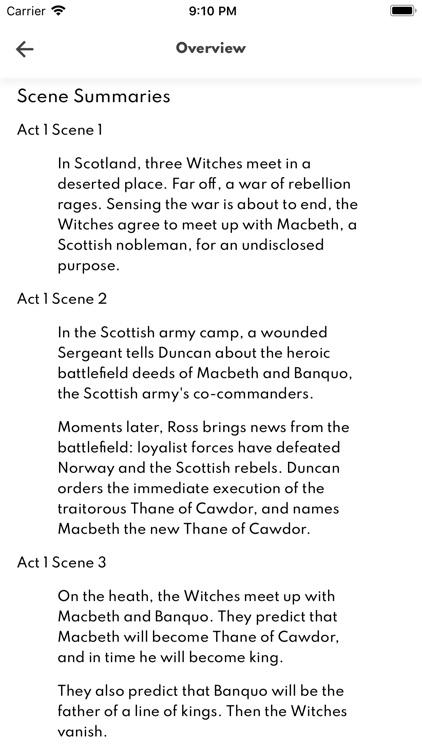 Macbeth Full Audio screenshot-6