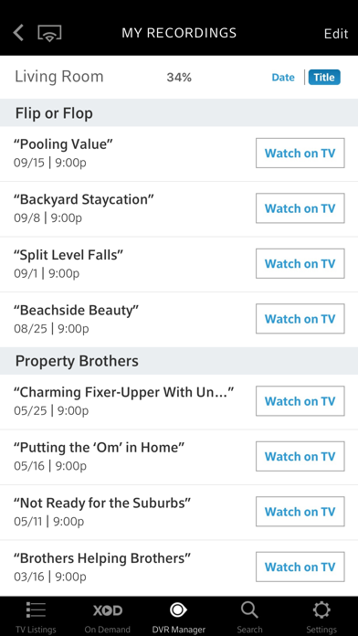 XFINITY TV Remote by Comcast (iOS, United States
