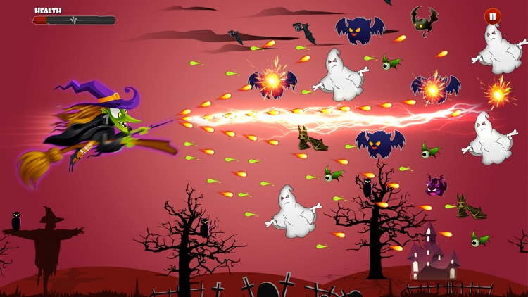 Angry Witch on Scary Run screenshot-4