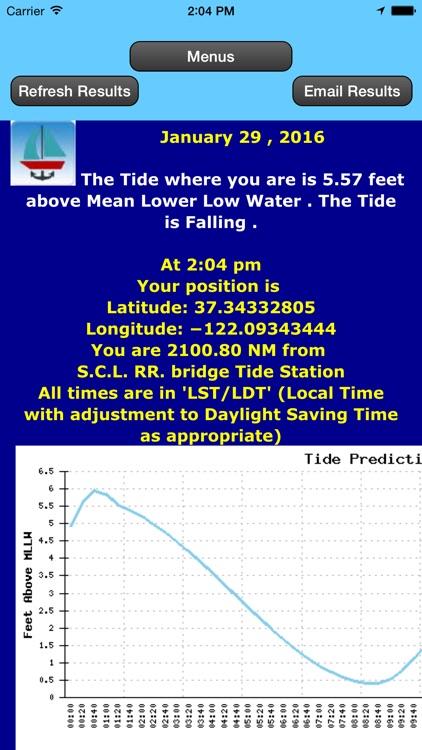 West Cst Tides Date and Locatn screenshot-3