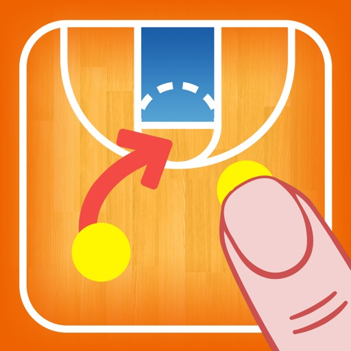 Coach Tactic Board: Basket
