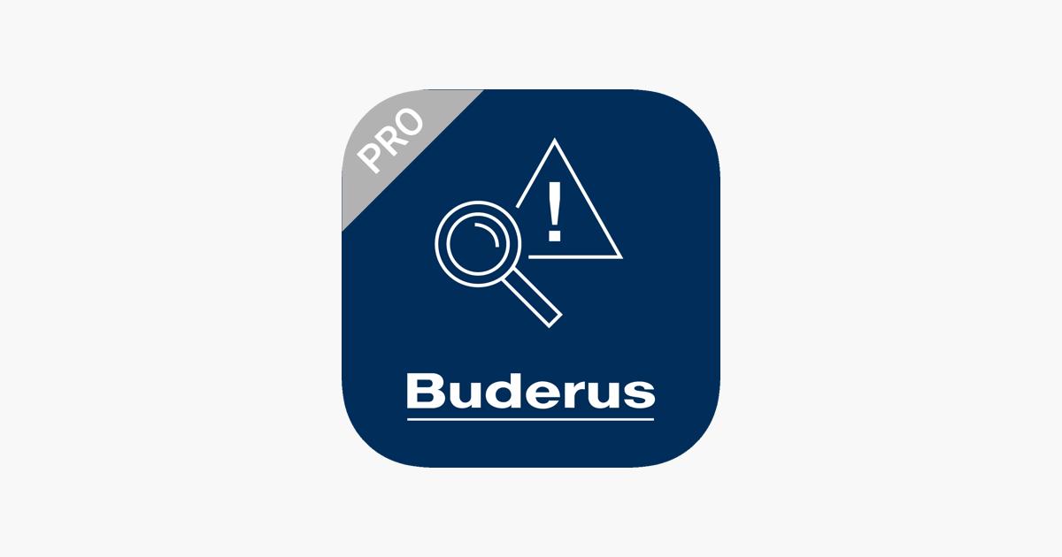 Bekannt Buderus ProWork im App Store RW75