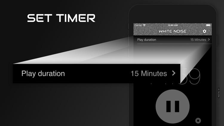 White Noise Baby Calming Sound screenshot-3