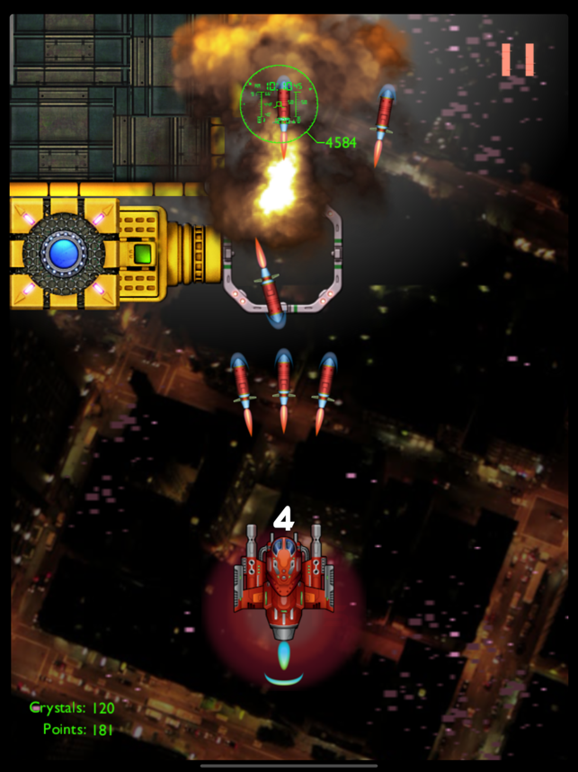 Time Squad: Alpha Strike! introduced for iOS - New Space Shooter Game Image