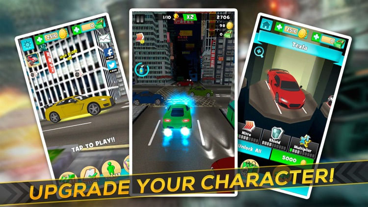 Top Speed Runner: Fast Car