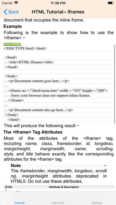 点击获取Tutorial for HTML
