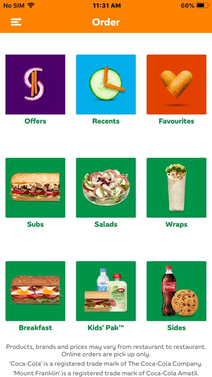 SUBWAY® Australia screenshot-1