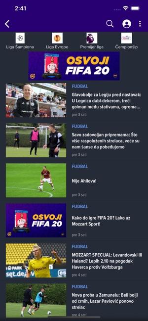 Mozzart Sport Portal On The App Store