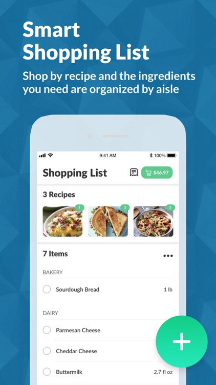 Cooklist: Grocery List Planner