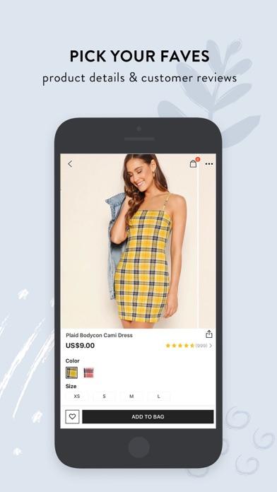 Screenshot for SHEIN-Fashion Shopping Online in Czech Republic App Store