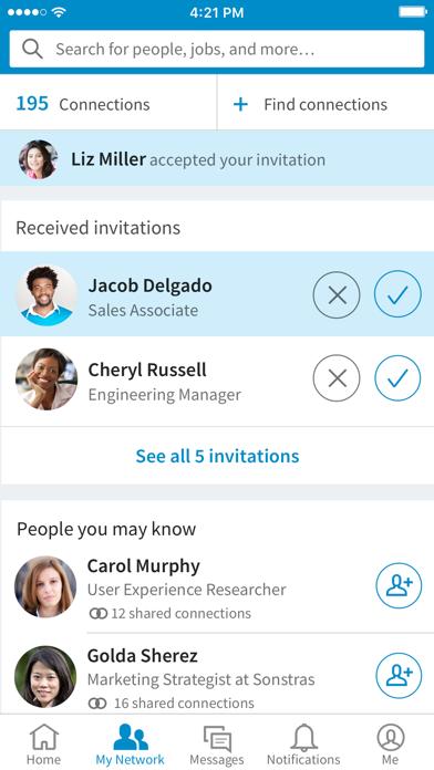 LinkedIn: Network & Job Search screenshot three