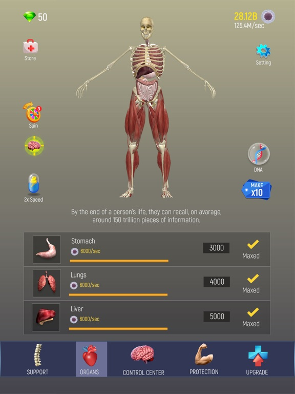 iPad Image of Idle Human