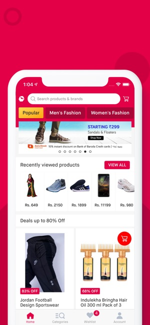 772da0c1be4 Snapdeal  Online Shopping App on the App Store