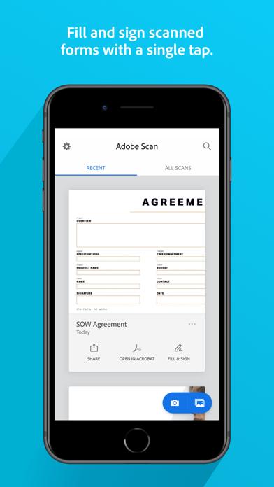 Adobe Scan: Mobile PDF Scanner Screenshot