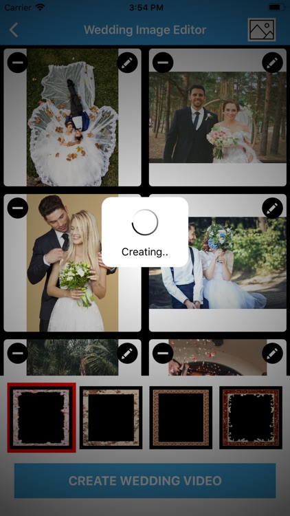 Wedding Album Video Maker screenshot-4