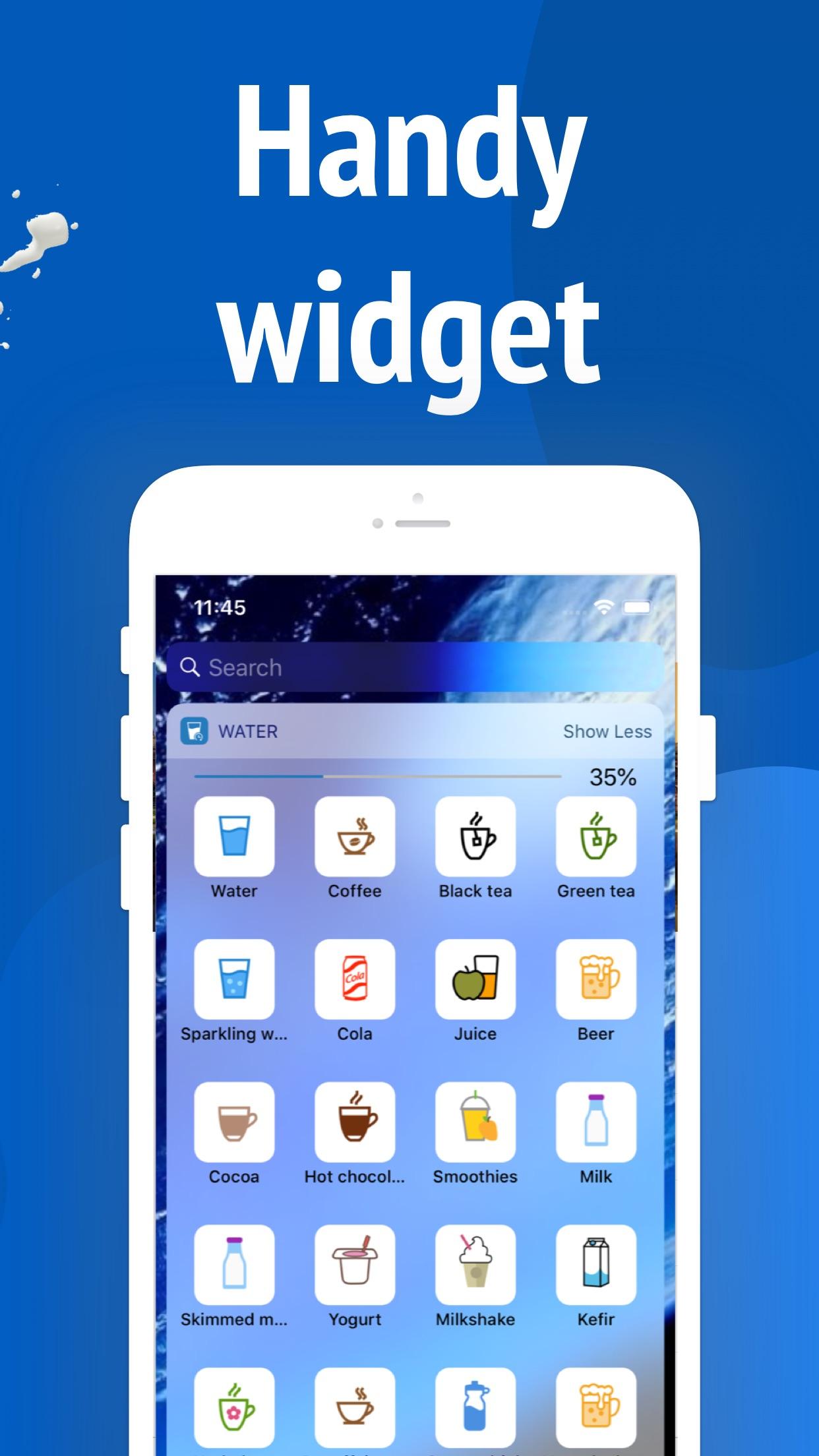 Screenshot do app Drink Control