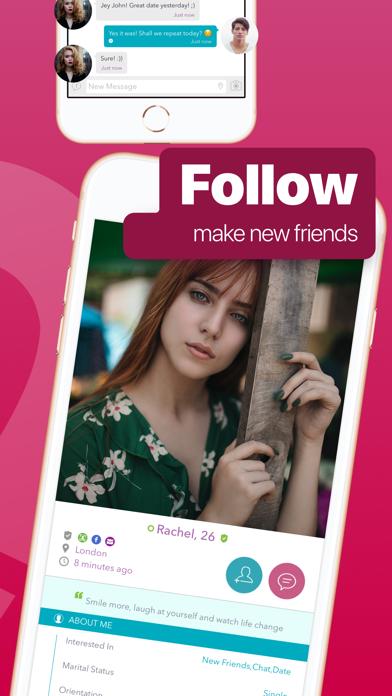 Send friend request on facebook app
