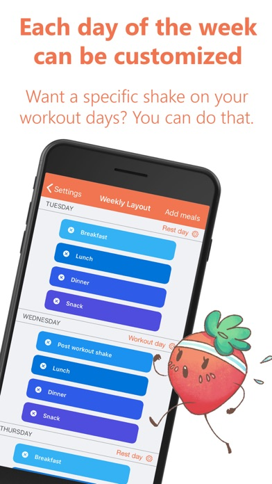 Eat This Much - Meal Plannerのおすすめ画像5