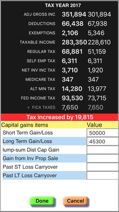 Income Tax Calculator: TaxMode screenshot four