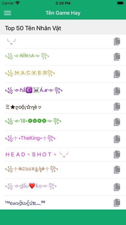 Kí Tự Đặc Biệt SoShareIT screenshot-4