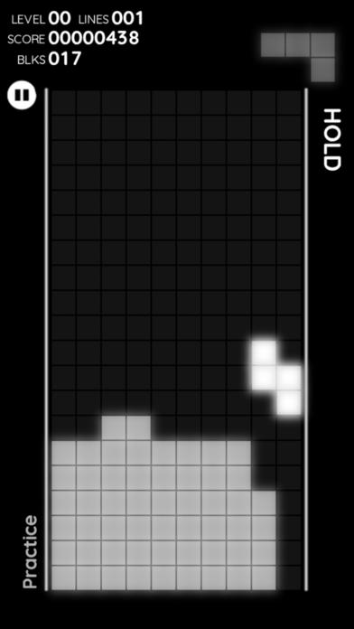 Screenshot from Falling Lightblocks