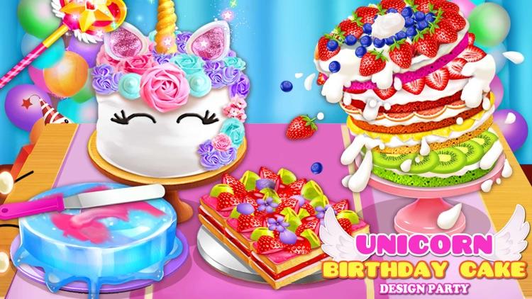 Birthday Cake Design Party screenshot-0