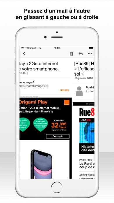 messages.download Mail Orange software